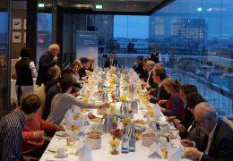 Das parlamentarische Frühstück des Minderheitenrates am 1.12.2016 mit Mitgliedern des Deutschen Bundestages