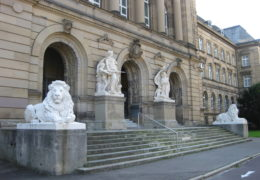 Portal Justizgebäude Ulm