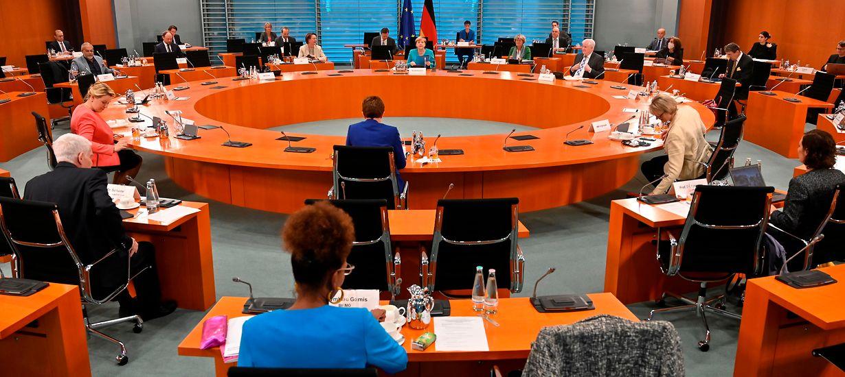 Sitzung des Kabinettsausschusses gegen Rechtsextremismus und Rassismus © Zentralrat Deutscher Sinti und Roma