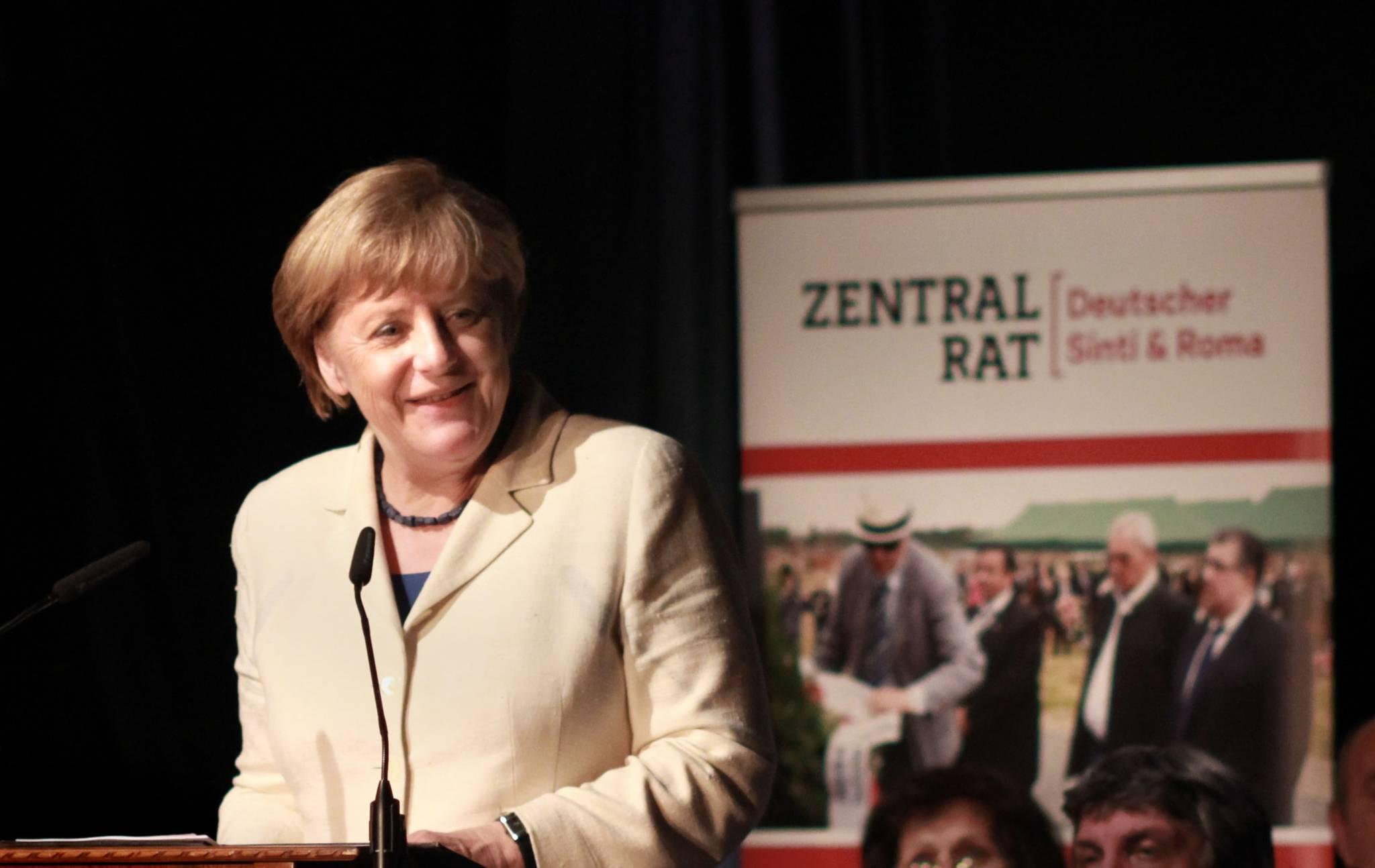 Bundeskanzlerin Dr. Angela Merkel. Foto : Nino Nnihad Pusija