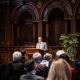 Grußwort von Oberbürgermeister Prof. Dr. Eckart Würzner, Heidelberg 29.03.2019 © Dokumentationszentrum/Susanne Lencinas