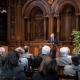 Grußwort von Michael Roth, Staatsminister für Europa im Auswärtigen Amt, Heidelberg 29.03.2019 © Dokumentationszentrum/Susanne Lencinas