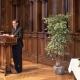 Festrede von Romani Rose, Vorsitzender des Zentralrats Deutscher Sinti und Roma, Heidelberg 29.03.2019 © Dokumentationszentrum/Susanne Lencinas