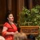 """Die junge Sopranistin Scarlett Rani Adler, Bundespreisträgerin von """"Jugend Musiziert""""  am 29. März 2019 in Heidelberg © Dokumentationszentrum/Susanne Lencinas"""