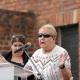 Die Auschwitzüberlebende Else Baker bei der zentralen Gedenkfeier am 2. August 2019 in Auschwitz-Birkenau  © Dokumentations- und Kulturzentrum Deutscher Sinti und Roma / Jarek Praszkiewicz