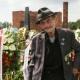 Der Holocaustüberlebende Raymond Gureme bei der zentralen Gedenkfeier am 2. August 2019 in Auschwitz-Birkenau  © Dokumentations- und Kulturzentrum Deutscher Sinti und Roma / Jarek Praszkiewicz