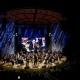 Konzert der Roma und Sinti Philharmoniker unter der Leitung Riccardo M Sahiti  am 1. August 2019 in der Jagiellonian Universität in Krakau  © Dokumentations- und Kulturzentrum Deutscher Sinti und Roma / Jarek Praszkiewicz