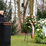 Claudia Roth, Vizepräsidentin des Deutschen Bundestages © Dokumentations- und Kulturzentrum Deutscher Sinti und Roma