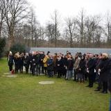 Gedenkstunde am Denkmal für die im Nationalsozialismus ermordeten Sinti und Roma Europas © Dokumentations- und Kulturzentrum Deutscher Sinti und Roma