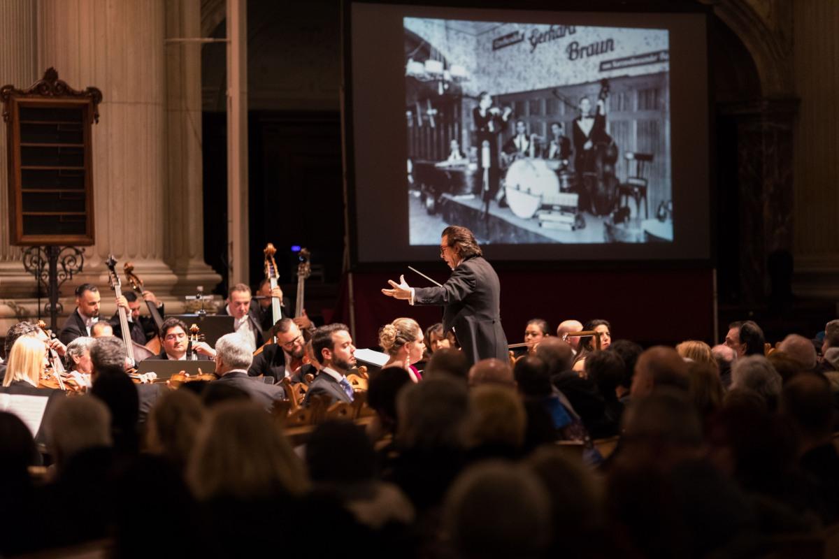"""Konzert: """"Requiem für Auschwitz"""" © Benjamin Renter / Zentralrat Deutscher Sinti und Roma"""