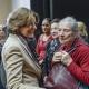 Malu Dreyer, Ministerpräsidentin von Rheinland-Pfalz im Gespräch mit Überlebenden © Zensen / Zentralrat Deutscher Sinti und Roma