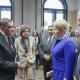 Von  links: Romani Rose, Ministerpräsidentin Malu Dreyer, Bundesministerin Dr. Giffey, Ministerpräsident Stephan Weil © Zensen / Zentralrat Deutscher Sinti und Roma