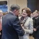 Die Ministerpräsidentin von Rheinland-Pfalz, Malu Dreyer mit dem Zentralratsvorsitzenden Romani Rose, Bundesrat 14.12.2018   © Zensen / Zentralrat Deutscher Sinti und Roma