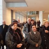 Führung durch den Deutschen Bundestag © Zentralrat Deutscher Sinti und Roma