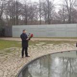 Besuch des Denkmals für die ermordeten Sinti und Roma Europas © Zentralrat Deutscher Sinti und Roma