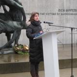 Dr. Astrid Ley, stellv. Gedenkstättenleiterinder Stiftung Brandenburgische Gedenkstätten © Zentralrat Deutscher Sinti und Roma