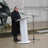 Ansprache des Vorsitzenden des Zentralrats Deutscher Sinti und Roma, Romani Roses © Zentralrat Deutscher Sinti und Roma