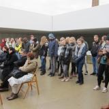 Gedenken im ehemaligen Konzentrationslager Sachsenhausen © Zentralrat Deutscher Sinti und Roma