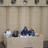 Gedenkansprache von Bundesratspräsidentin Malu Dreyer © Zentralrat Deutscher Sinti und Roma